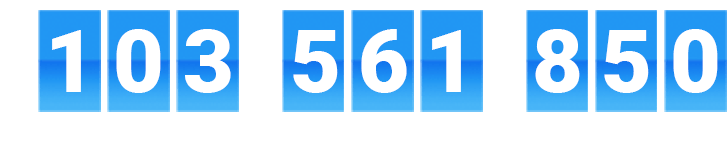 $103,561,850 in reward value earned by our members