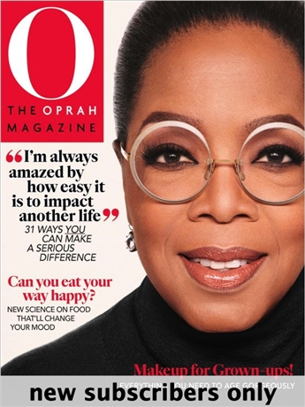 O, the Oprah Magazine gives you a unique look at Oprah's wisdom on health, beauty, and happiness. Live your best life today.